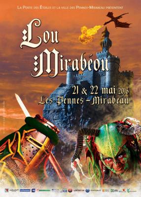 Évènement - Festival Lou Mirabeou 2016