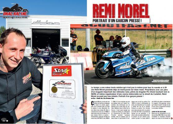 NEWS - DRAGSTER MOTO, Un sport méconnu, découvrez Remi MOREL notre champion français.