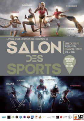 NEWS - 18 ème édition du SALON des SPORTS à Aix en Provence, un événement incontournable