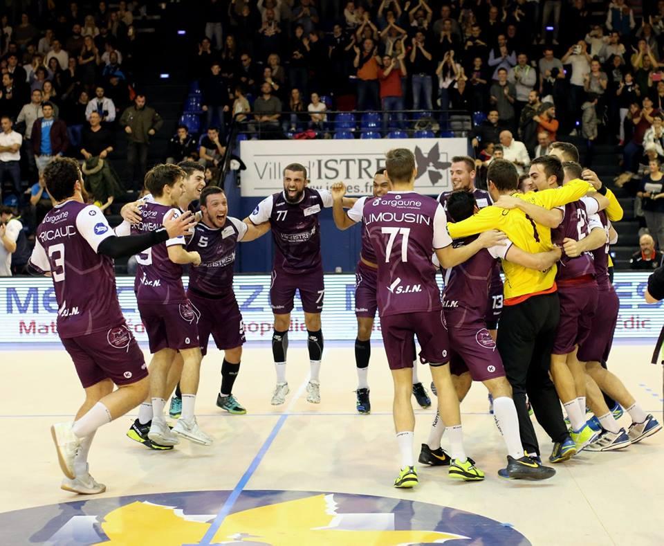 Istres Provence handball victoire contre Aix