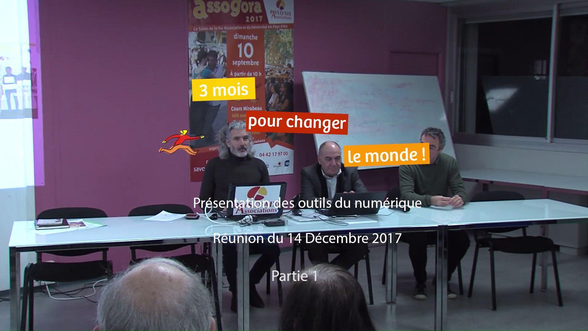 3 Mois pour changer le Monde - Outils du Numérique