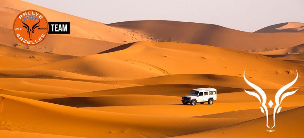 Rallye Aïcha des gazelles.