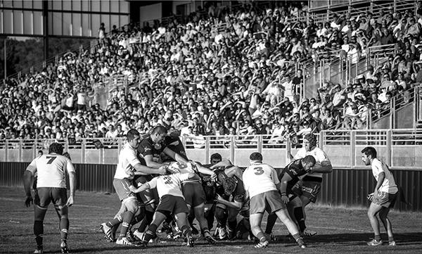 équipe de France de rugby.