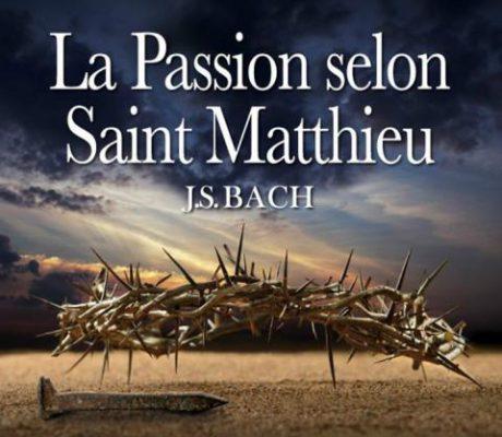 la passion selon st mathieu